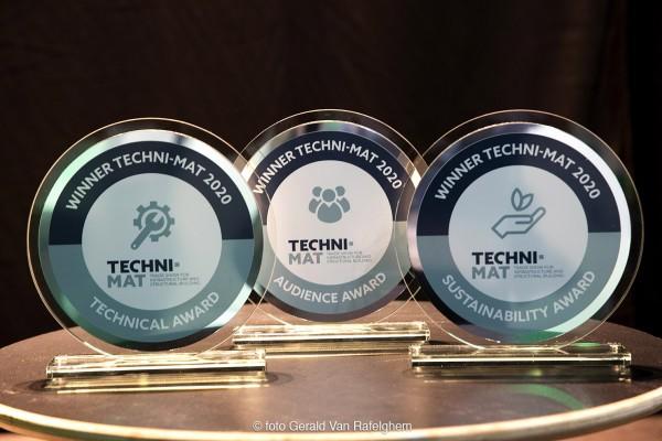 Winnaars TECHNI-MAT Awards