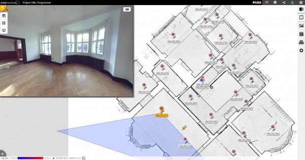 Cloud-gebaseerd platform voor het delen van 3D-realiteitsgegevens, projectbeheer en Scan-to-BIM workflows