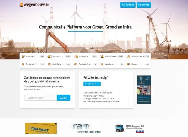 Nieuwe website wegenbouw.be: grote facelift en meer mogelijkheden