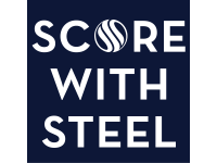 Score with steel